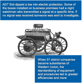 ADT first dipped a toe into electric protection.
