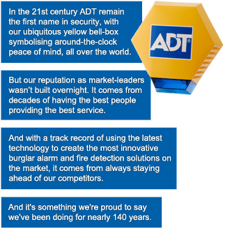 In 21st century ADT remains the first name in security.