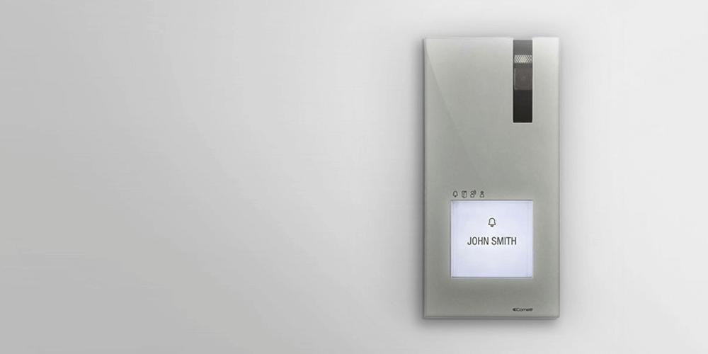 Business access control panel half width