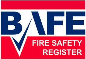 BAFE (British Approvals For Fire Equipment) logo