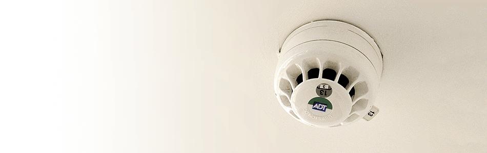 Photo of a smoke detector