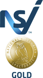 National Security Inspectorate (NSI) Gold logo