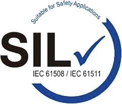 Suitable for safety applications SIL logo